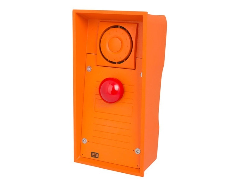 2N IP Safety with Red Emergency Button (9152101MW)