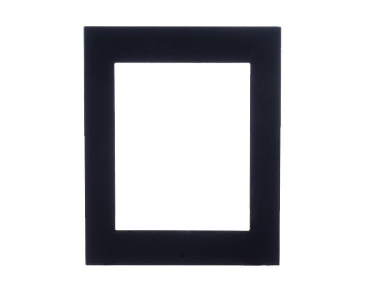 2N Helios Surface Installation Frame for 1 Helios IP Verso Module - Black (9155021B)
