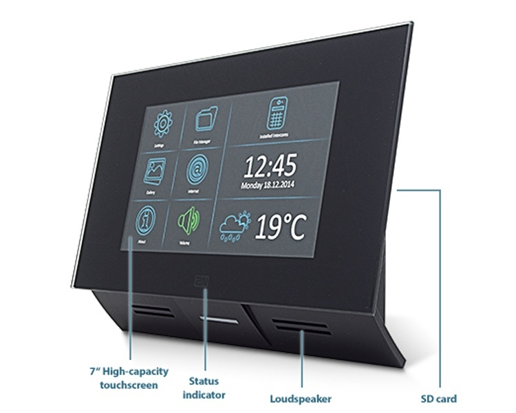 2N Indoor Touch Screen Black (91378365)