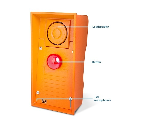 2N Helios IP Safety - Red Button