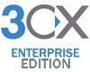 3CX Version Upgrade (Latest Version) Enterprise Edition 128SC incl. 1 year Upgrade Insurance (93CXPSENT128VU)