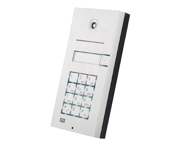 2N IP Vario 1 Button + Keypad Door Entry Panel (137111KU)