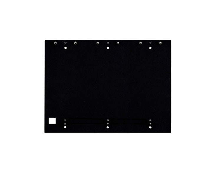 2N Backplate for 2N Helios IP Verso - 6 Modules (3Wx2H) (9155065)