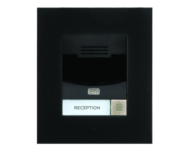 2N IP Solo Flush Mount - Black 9155301CBF (requires 9155017)