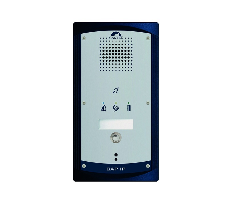 Castel CAP IP-1B-P IP Entry station 1 Button and Visual Signals - SIP Door Entry System