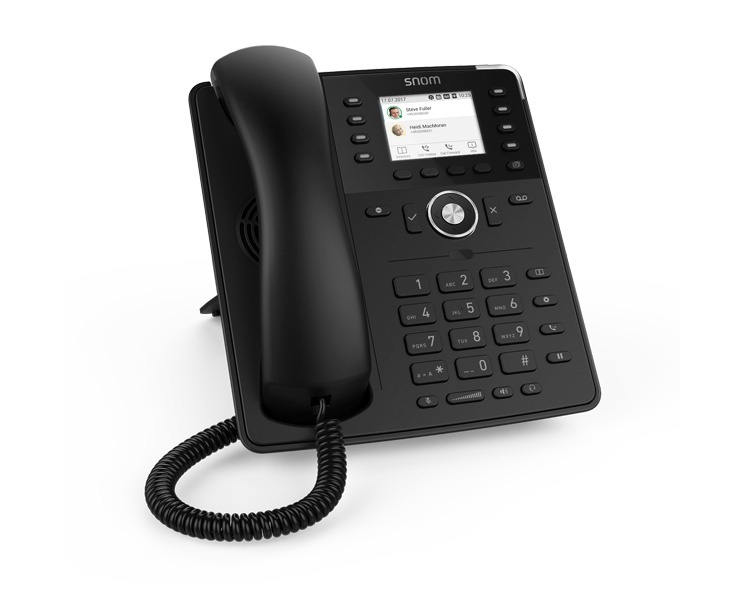 Snom D735 IP Phone - Black