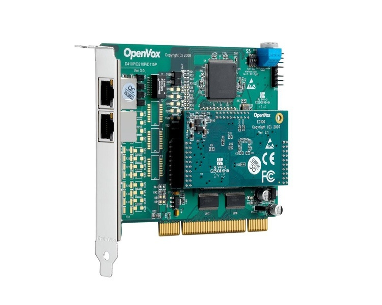 OpenVox DE210P PCI ISDN PRI Card with Echo Cancellation
