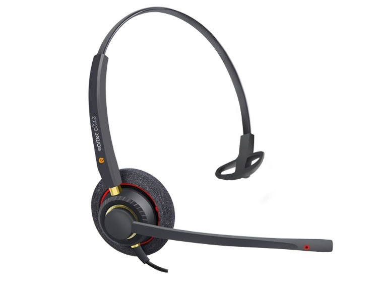 Eartec Office Over-the-head, Monaural, Noise-cancelling Headset (EAR-510)