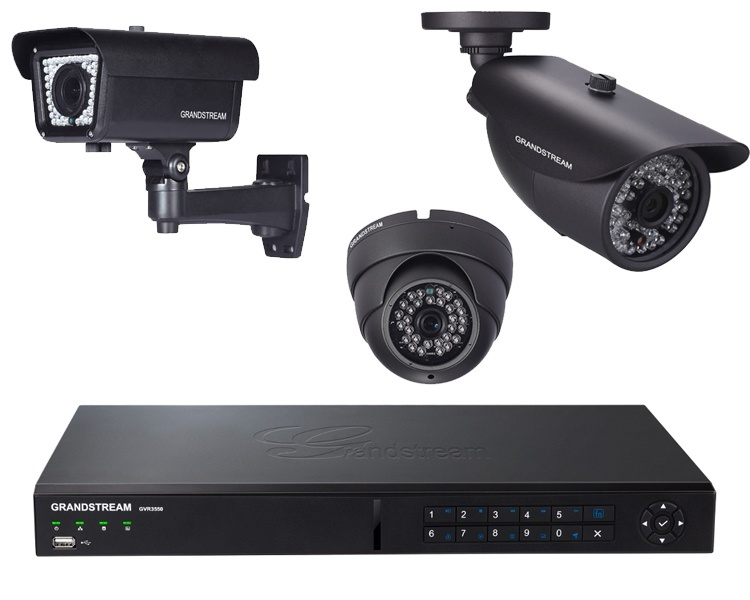 Grandstream NVR IP Camera Bundle