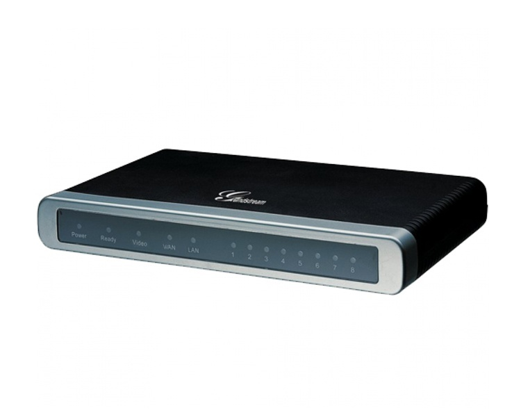 Grandstream GXW-4108 Analog FXO Gateway