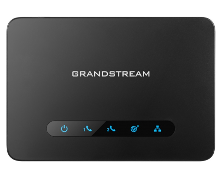 Grandstream HT812 Powerful 2-port ATA with Gigabit NAT Router