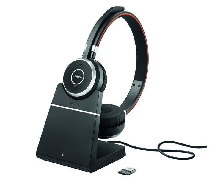 Jabra Evolve 65 incl. charging stand MS Mono