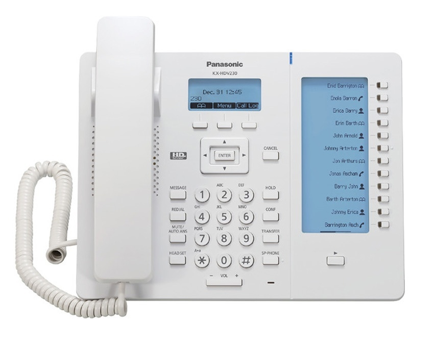 Panasonic KX-HDV230 IP Phone - White