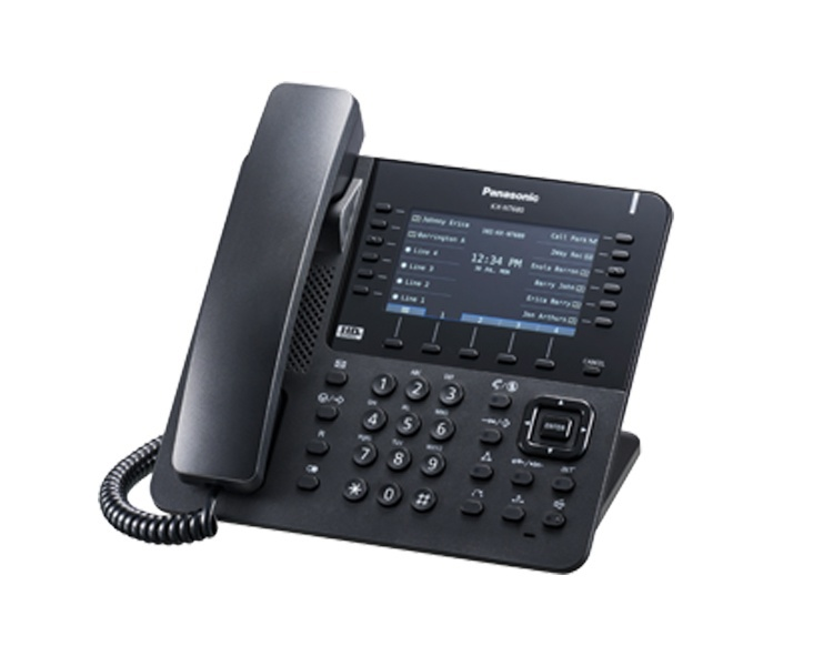 Panasonic KX-NT680 IP Phone Black