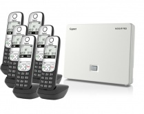 Gigaset N510IP Base Station and Gigaset A690HX DECT Phone Bundle - Six Handsets