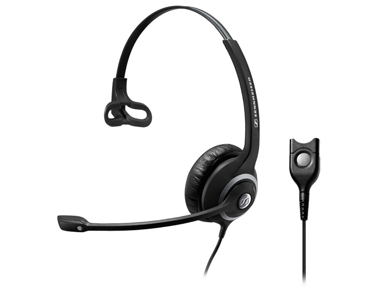Sennheiser Circle SC 230 (single-sided) professional wired headset monaural, with ED, for wideband and narrowband phones