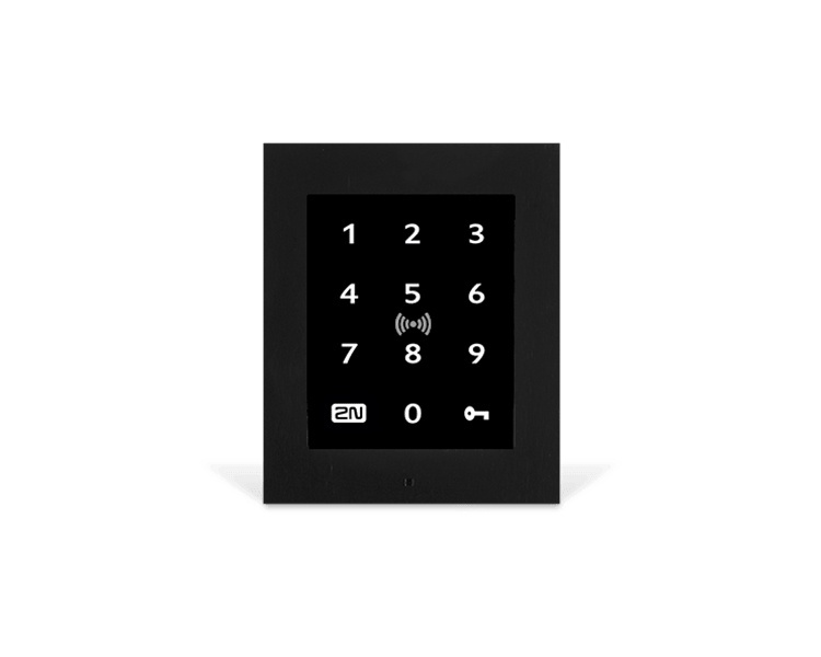2N Access Unit 2.0 Touch Keypad and RFID Secured (9160336-S)