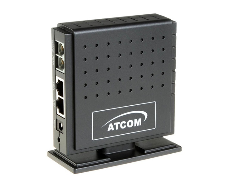 Atcom AG-198 IAX2/SIP Analog Telephone Adapter