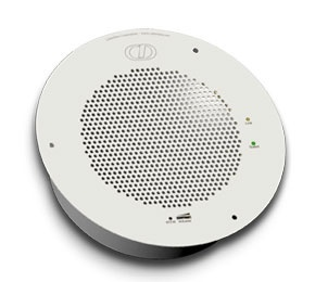 CyberData Singlewire-Enabled Talk Back Speaker - Signal White (011183)
