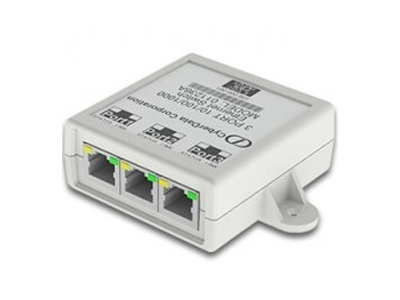 CyberData 3 Port Gigabit Ethernet Switch (011236)