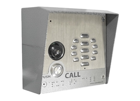 CyberData Video Outdoor VoIP Intercom (011410)