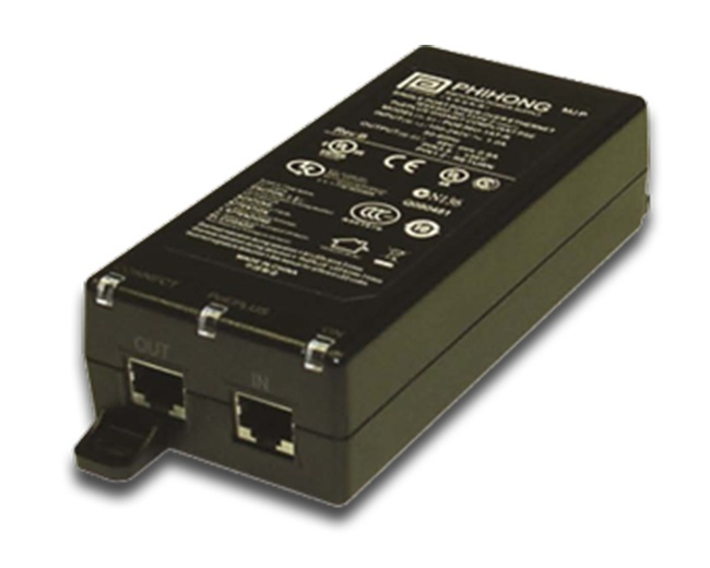 CyberData PoE Power Injector 802.3at (011124)