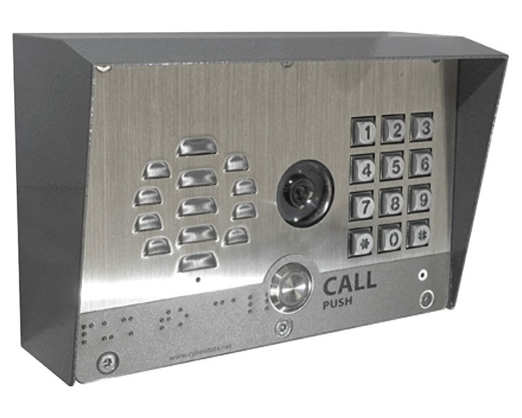 CyberData Video Outdoor VoIP Intercom with Keypad (011414)