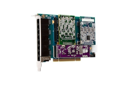 Digium 1HB8-0000BLF 8 Port Hybrid PCI-Express x1 card, no interfaces with HW Echo Can