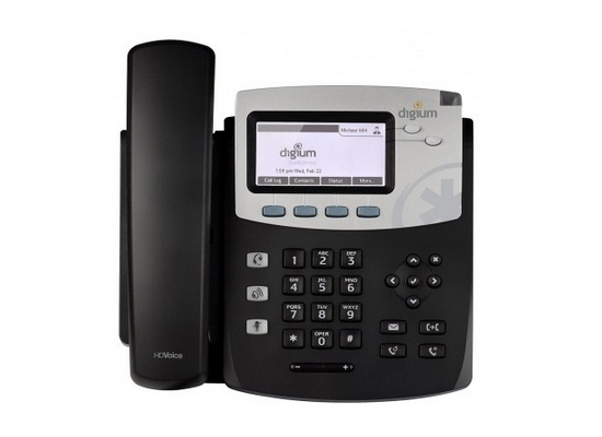 Digium D45 IP Phone with Icon keys