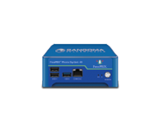 Sangoma FreePBX Phone System 40 - 40 users or 30 calls