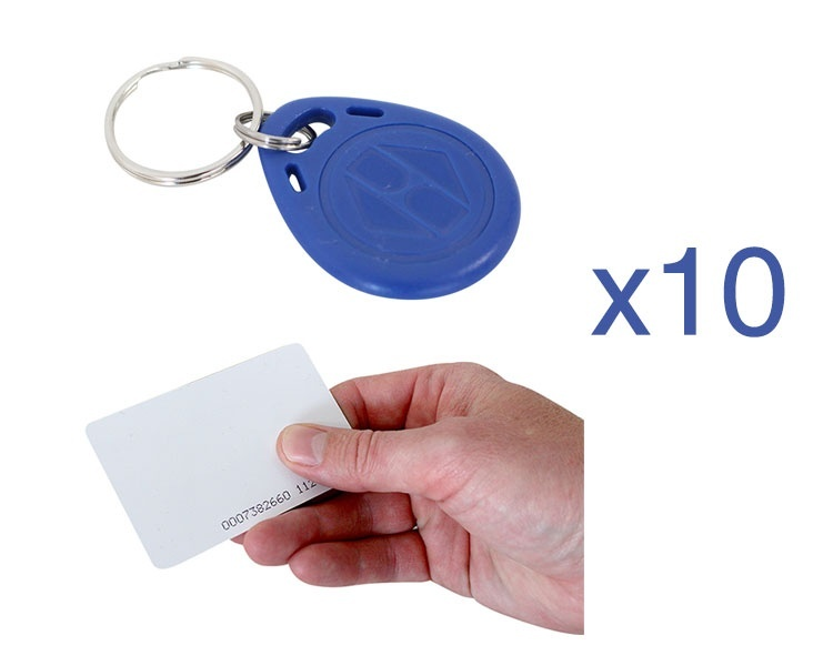 Grandstream RFID Cards, Fobs (10 Pack)
