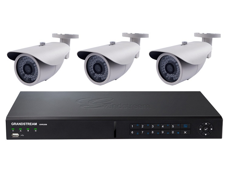 Grandstream GXV3672_FHD and NVR IP Camera Bundle