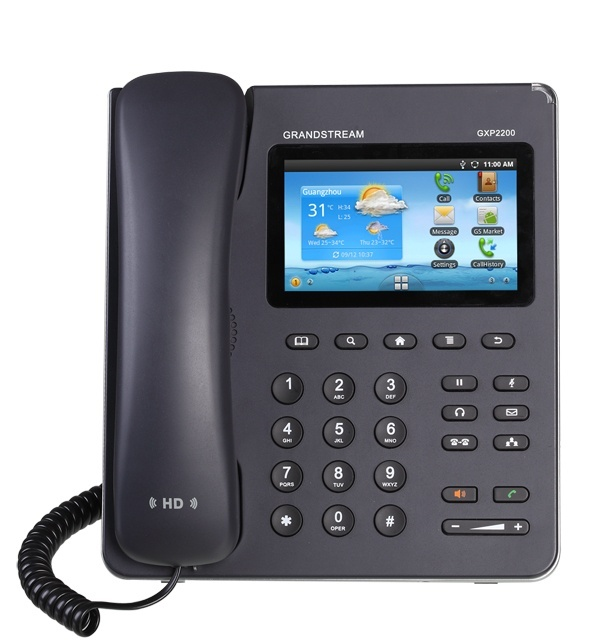 Grandstream GXP2200 Android Desk IP Phone
