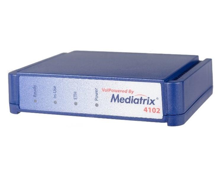 Mediatrix 4102 2 Port Analog FXS Gateway