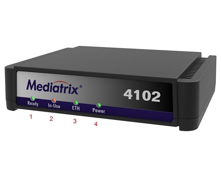 Mediatrix 4102S 2 Port Analog FXS Gateway with FIPS