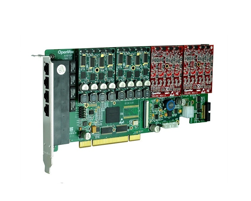 OpenVox A1610P 16 Port Analog PCI card