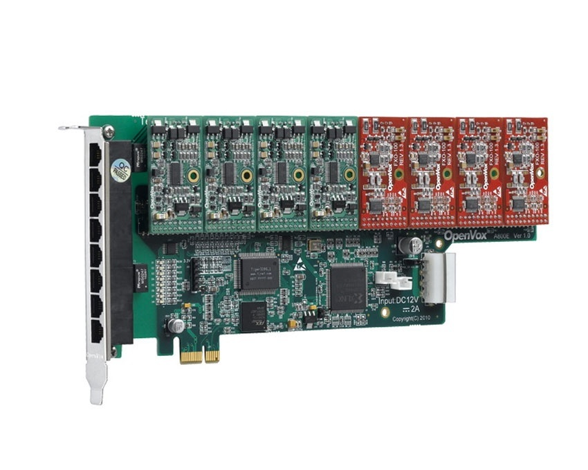 OpenVox A400E PCI Express Asterisk Card