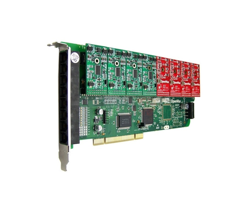 OpenVox A800P PCI Asterisk Cards