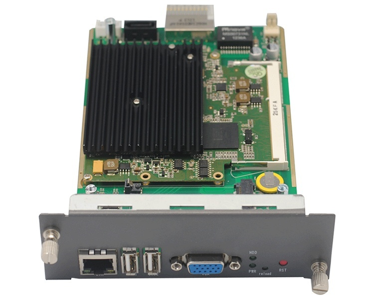 OpenVox VS-CCU-N2600AH-H Intel Atom N2600 Processor adapter with 500G HDD Sata/2G RAM
