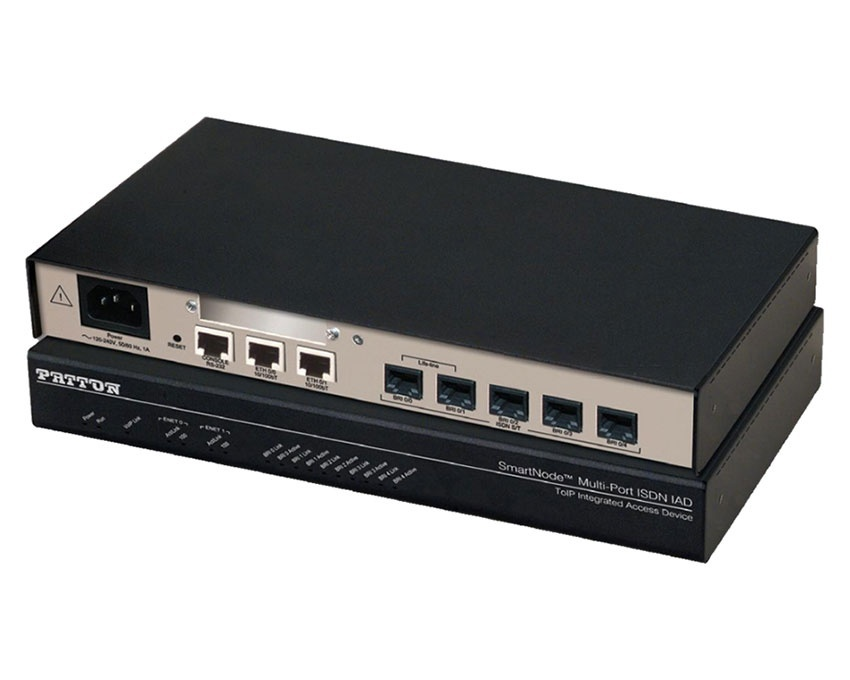 Patton SmartNode 4634 3 port ISDN BRI Gateway