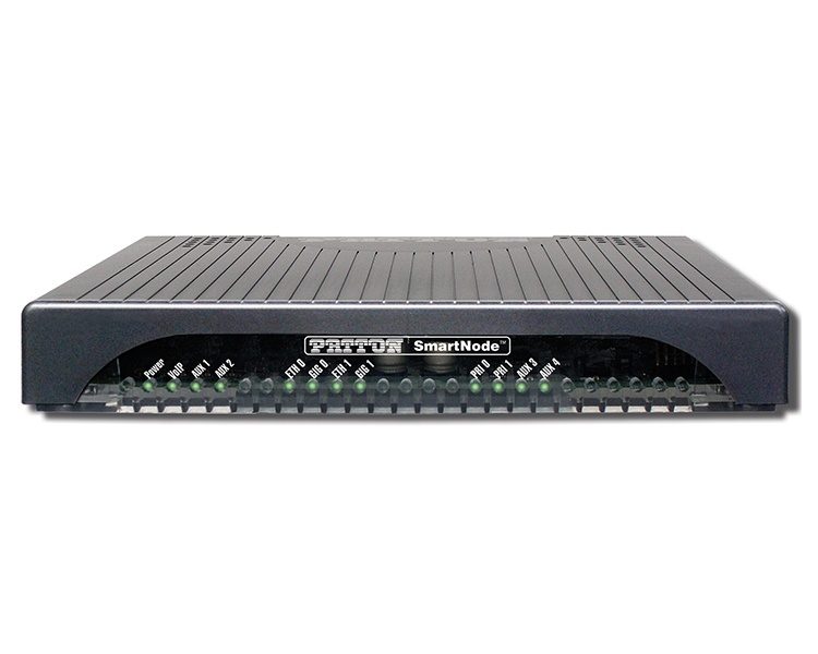 Patton SmartNode SN5570/1E30V/EUI ESBR, with 1 E1/T1 PRI, 30 VOIP calls, 15 SIP Sessions (SIP back-to-back calls) Session Border Router
