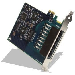 PIKA Triple Span T1/E1 PRI ISDN Card with Echo Cancellation