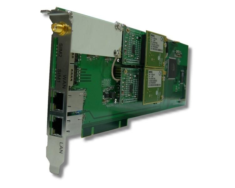 PORTech DuMV - 2 Port GSM PCI Card