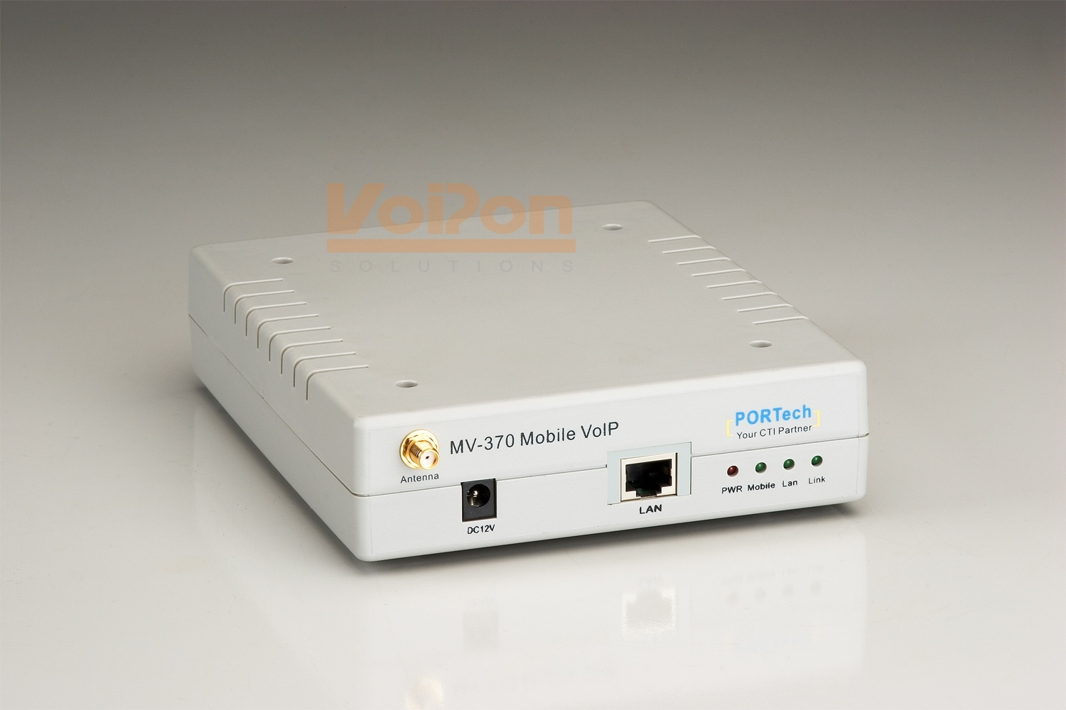 PORTech MV-370 - 1 channel GSM/VoIP Gateway