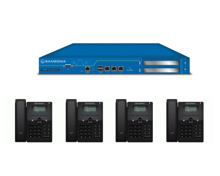 Sangoma S300 IP Phone & FreePBX 60 Bundle