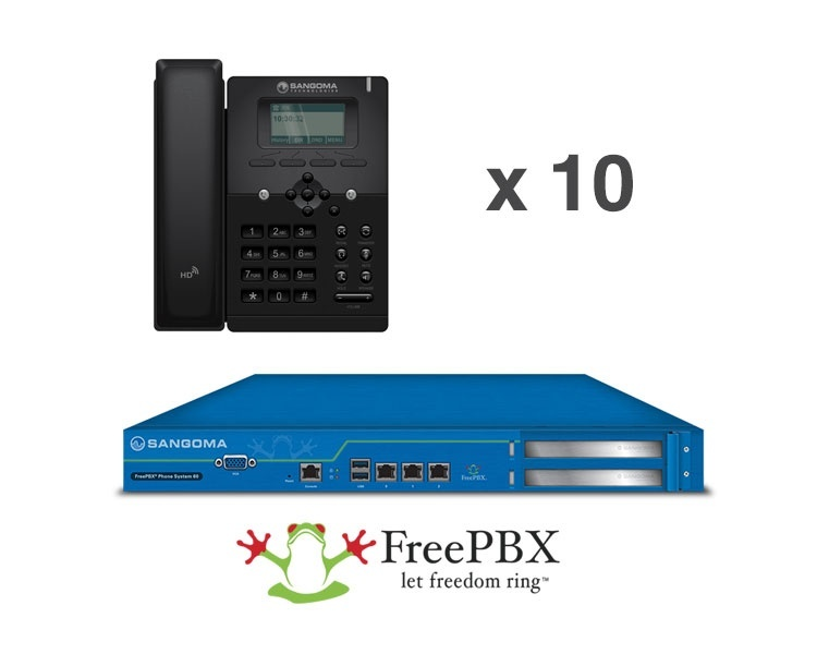 Sangoma S300 & FreePBX 60 Starter Phone System Bundle