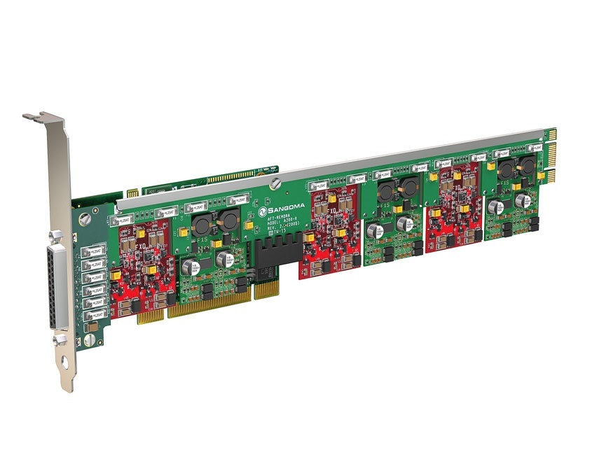 Sangoma A400 FXO FXS Analogue Card PCI