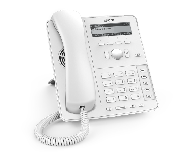 snom D715 IP Phone - White