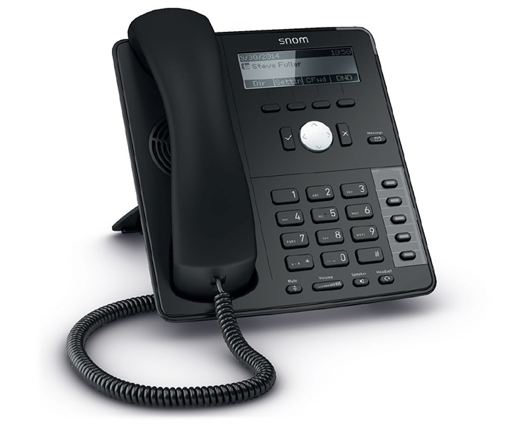 snom D715 IP Phone - Black