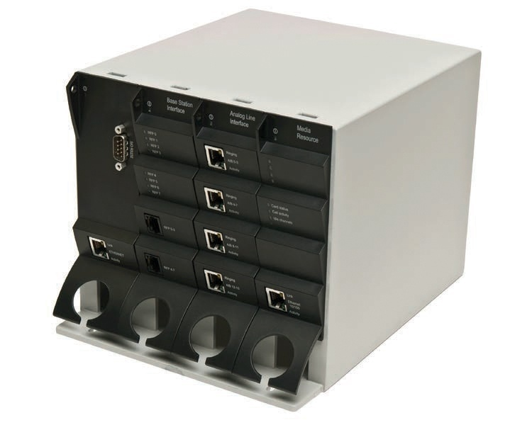 Spectralink DECT Server 2500 Wall Mount Chassis (inc CPU with 8Ch VoIP, BIF & PSU)